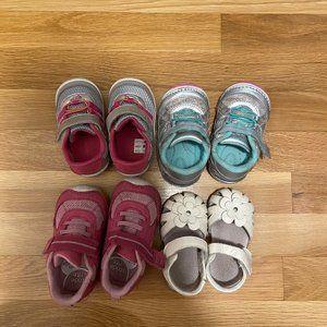 Baby Girl Shoe Bundle!!